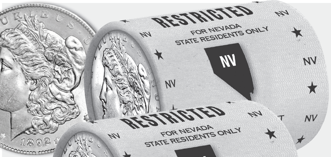 National Mint & Treasury - Offers Up Last State Restricted Morgan Silver Dollar Bank Rolls